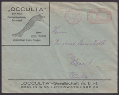 "Werbebrief ""Occulta-Compressionsstrümpfe"", Berlin, 1927 - Covers & Documents"