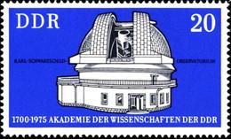 Rda Poste N** Yv:1742 Mi:2062 Karl Schwarzschild Observatorium - Unused Stamps
