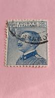 ITALIE - ITALY - Timbre 1925 : Portrait Du Roi Victor-Emmanuel III (Vittorio Emanuele III) - Used