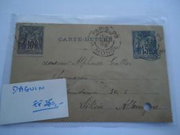 FRANCE   COVER   1892  PARIS  29 MONGE  3 SCAN - Unclassified