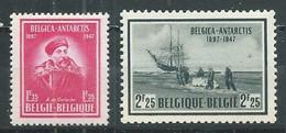 Belgique YT N°749/750 Expédition Antarctique Du Belgica Neuf/charnière * - Unused Stamps