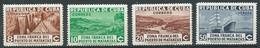 Cuba YT N°225(A)-226(A)-227(A)-228(A) Zone Franche Du Port De Matanzas Neuf/charnière * - Unused Stamps