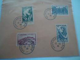 FRANCE  COVER  1946  CONFERENCE  2 SCAN - Unclassified