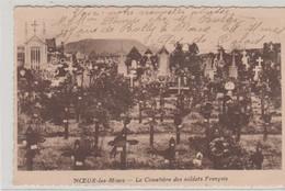 N°72735 -cpa Noeux Les Mines -le Cimetière Des Soldats Françalis- - Oorlogsbegraafplaatsen