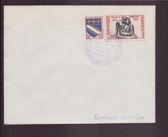 """France, Enveloppe Avec Cachet Commémoratif """" Association Culturelle Maillol """" Du 18 Septembre 1971 à Banyuls - Gedenkstempels"""
