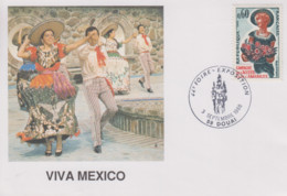 Carte  FRANCE   44éme   Foire  Exposition   DOUAI    1988 - Gedenkstempels