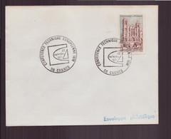 """France, Enveloppe Avec Cachet Commémoratif """" Conférence Technique IBM """" Du 22 Septembre 1971 à Cannes - Gedenkstempels"""