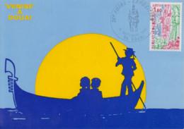 Carte  Maximum   FRANCE   36éme   Foire  Exposition   DOUAI    1980 - Gedenkstempels