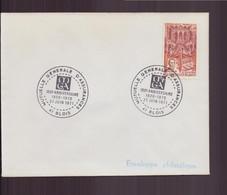 """France, Enveloppe Avec Cachet Commémoratif """" Anniversaire MGA """" Du 27 Juin 1971 à Blois - Gedenkstempels"""
