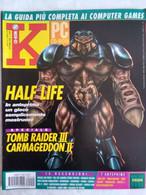 K Pc Games 10/98 Half Life Tomb Raider III Carmageddon Monaco Grand Prix Israeli Air Force Hardwar Urban Assault Hedz - Informatica
