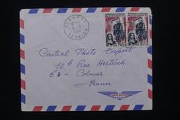 RÉUNION - Enveloppe De St André Pour La France En 1966, Affranchissement Ile Bourbon - L 109070 - Covers & Documents