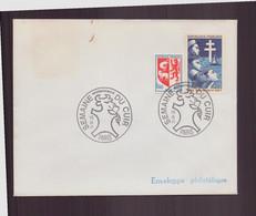 """France, Enveloppe Avec Cachet Commémoratif """" Semaine Du Cuir """" Du 10 Septembre 1971 à Paris - Gedenkstempels"""