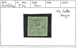 GUADELOUPE N° TAXE 12 OBL - Used Stamps