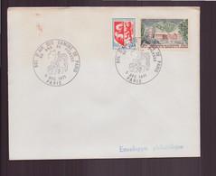 """France, Enveloppe Avec Cachet Commémoratif """" Bol D'air Des Gamins De Paris """" Du 5 Décembre 1971 à Paris - Gedenkstempels"""