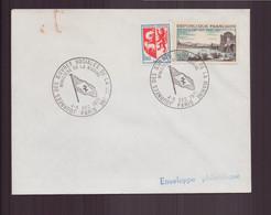 """France, Enveloppe Avec Cachet Commémoratif """" Journée Oeuvres Sociales De La Marine """" Du 4 Décembre 1971 à Paris - Gedenkstempels"""