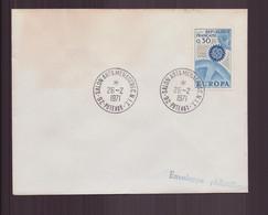 """France, Enveloppe Avec Cachet Commémoratif """" Salon Arts Ménagers """" Du 26 Février 1970 à Puteaux - Gedenkstempels"""
