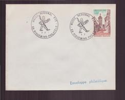 """France, Enveloppe Avec Cachet Commémoratif """" Musée Régional PTT """" Du 7 Juillet 1971 à Riquewihr - Gedenkstempels"""