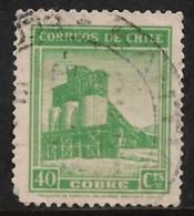 Chile 1939. Scott #203 (U) Copper Mine - Chile