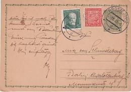 TCHECOSLOVAQUIE 1931        ENTIER POSTAL/GANZSACHE/POSTAL STATIONERY CARTE DE PROSTEJOV - Postcards