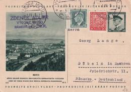 TCHECOSLOVAQUIE 1938     ENTIER POSTAL/GANZSACHE/POSTAL STATIONERY CARTE ILLUSTREE DE VISOKE MYTO - Postcards