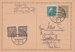 TCHECOSLOVAQUIE 1935    ENTIER POSTAL/GANZSACHE/POSTAL STATIONERY CARTE DE BESOVICE - Postcards