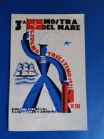 1935  TRIESTE  3a MOSTRA DEL MARE  CON ANNULLO - Trieste (Triest)