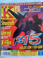 K Pc Games 5/98 Starcraft Unreal X-files Profitania Motor Mash Micromachines V3 Lara Mania Tex Murphy Wall Street Trade - Informatica