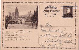 TCHECOSLOVAQUIE 1931    ENTIER POSTAL/GANZSACHE/POSTAL STATIONERY CARTE ILLUSTREE DE BRNO - Postcards