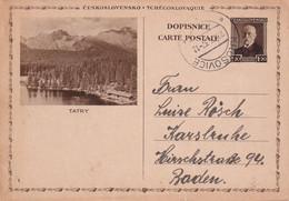 TCHECOSLOVAQUIE 1937    ENTIER POSTAL/GANZSACHE/POSTAL STATIONERY CARTE ILLUSTREE DE KRUSOVICE - Postcards