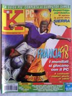 K Pc Games 6/98 Quake 2 Turok Tomb Raider 2 Heavy Gear Blade Runner Riven Monkey Island 3 Warlords 3 7 Legion Obsidian - Informatica