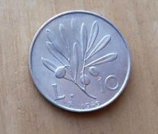 *10 LIRE DEL 1949 REPUBBLICA ITALIANA - - 10 Lire