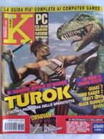 K Pc Games 12/97 Quake 2 Turok Blade Runner Riven Obsidian Heavy Gear Tomb Raider 2 Legacy Of Kain Streets Of Sim City - Informatica