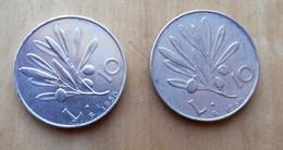 *10 LIRE DEL 1950 REPUBBLICA ITALIANA - Con Variante Di Conio - - 10 Lire