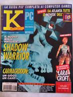 K Pc Games 7/97 Shadow Warrior Dungeon Keeper Inferno Noir Bug Too Nemesis Pinball Timeshock Pyramid Nicklaus Moto Racer - Informatica