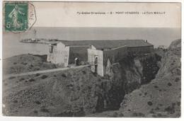 """Cachet Ambulant  """" Cerbere à Narbonne 1° """" Ind 1 / CP , Carte Du 05/12/1909 , De Port Vendres - Covers & Documents"""