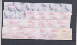 AUSTRALIA  ATM Machine Stamps Nice Lot MNH - ATM/Frama Labels