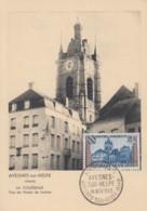 Carte  Maximum  1er  Jour    FRANCE    AVESNES  Sur  HELPE    1959 - 1950-59