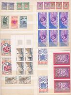 FRANS ANDORRA -  Postfrisse Verzameling Van Meerdere Zegels - Unused Stamps