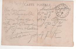 """Cachet Ambulant  """" Méditerranée à Lyon """" Ind 1 / CP , Carte Du 13/11/1928 , De Marseille En FM - Covers & Documents"""