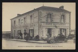 PONT DE THOUARE * CAFE RESTAURANT * SAMSON - REDUREAU * ANIME * VOITURE - Caffé