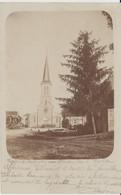 VAUX SOUS AUBIGNY (52) - Carte Photo - Place De L'Eglise - Bon état - Autres Communes