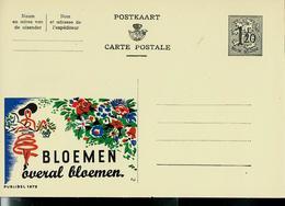 Publibel Neuve N° 1272 ( BLOEMEN  Overal Bloemen) - Publibels