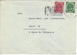 Enveloppe ALLEMAGNE N° 14, 16 Y & T - Covers & Documents