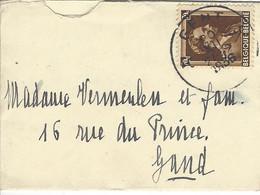 Enveloppe BELGIQUE N° 427 Y & T - Covers & Documents