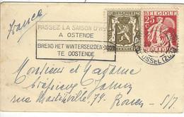 Enveloppe BELGIQUE N° 339, 420 Y & T - Covers & Documents