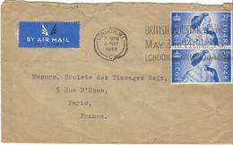 Enveloppe GRANDE BRETAGNE N° 237 Paire - Covers & Documents
