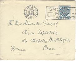 Enveloppe IRLANDE N° 45 Y & T - Covers & Documents