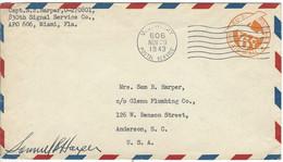 Enveloppe ETATS UNIS Entiers Postaux - 1941-60