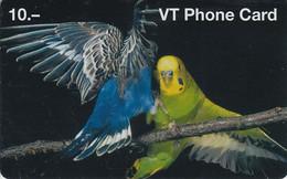 SWITZERLAND - PHONE CARD - PRÉPAYÉE ***  2 PERROQUETS *** - Pappagalli