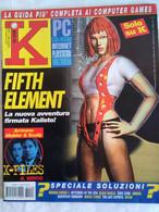 K Pc Games 8/98 Fifth Element Broken Sword 2 Mysteries Of The Sith Black Dahlia Zero Zone Deathrap Dungeon Jungle Strike - Informatica